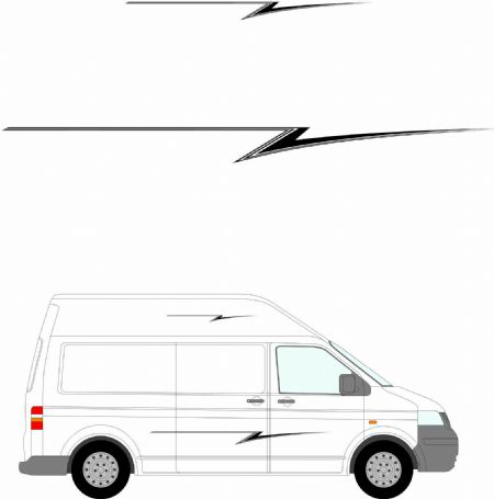 (No.274) MOTORHOME GRAPHICS STICKERS DECALS CAMPER VAN CARAVAN UNIVERSAL FITTING